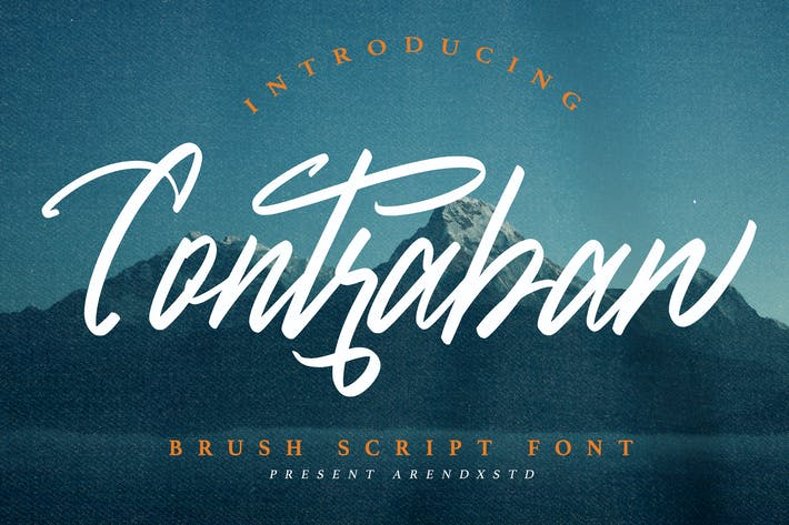 Thumbnail for Contraban - Pincel Script