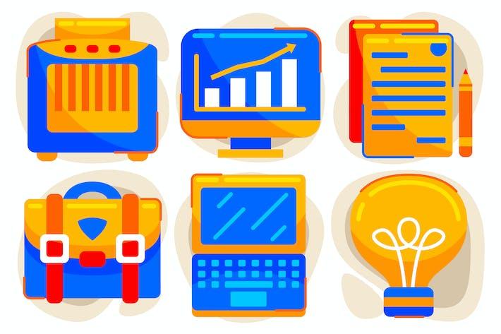 Thumbnail for Business-Vektor-Grafik-Elemente #2