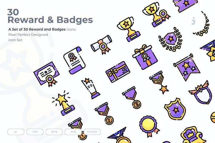 Thumbnail for 30 Значки и значки Иконки