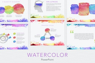 Volt multipurpose template by simplesmart on envato elements watercolor powerpoint template toneelgroepblik Image collections