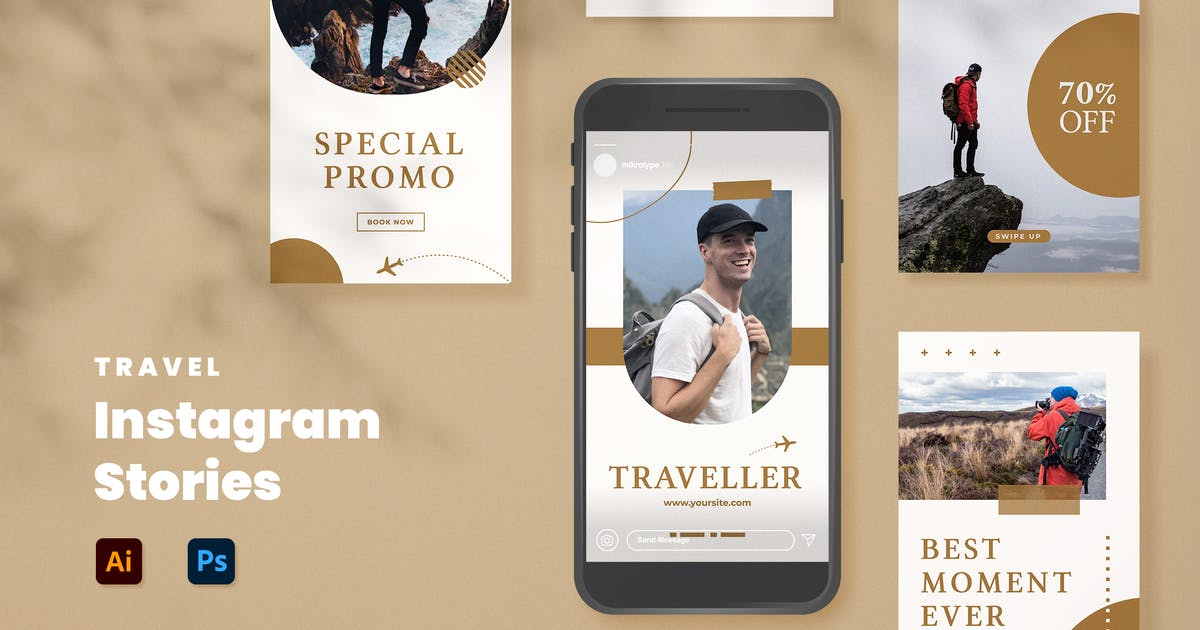 Download Travel Instagram Stories by mikrotypestd