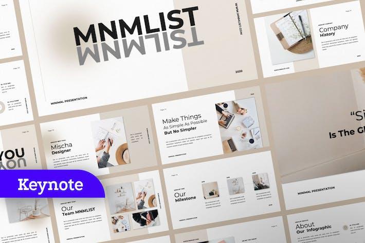 MNMLIST Keynote Template