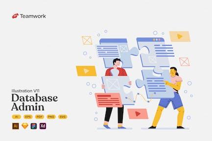 Teamwork - Database Management & Administrator