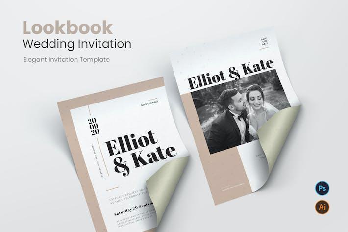 Thumbnail for Invitation de mariage Lookbook