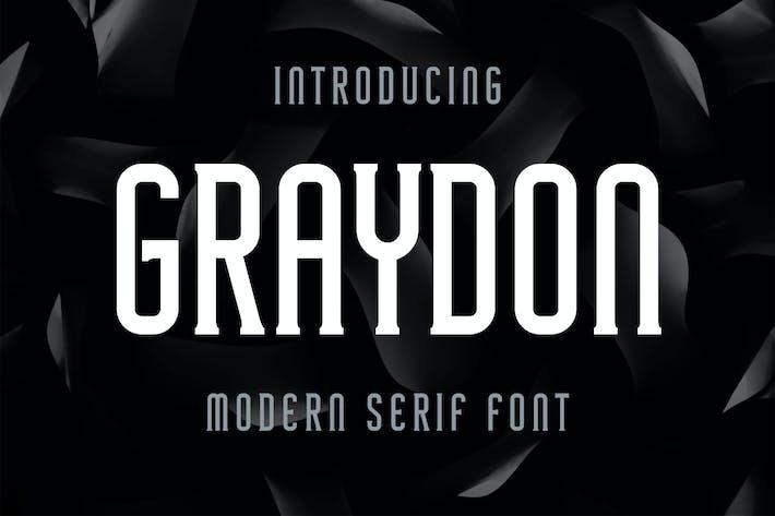 Thumbnail for Graydon - Modern Serif Font