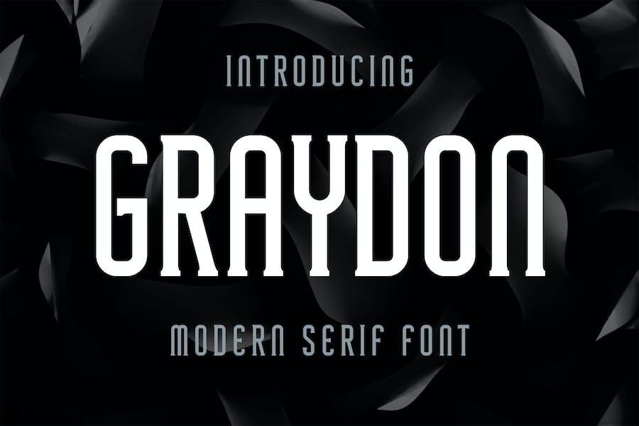 Graydon - Modern Serif Font