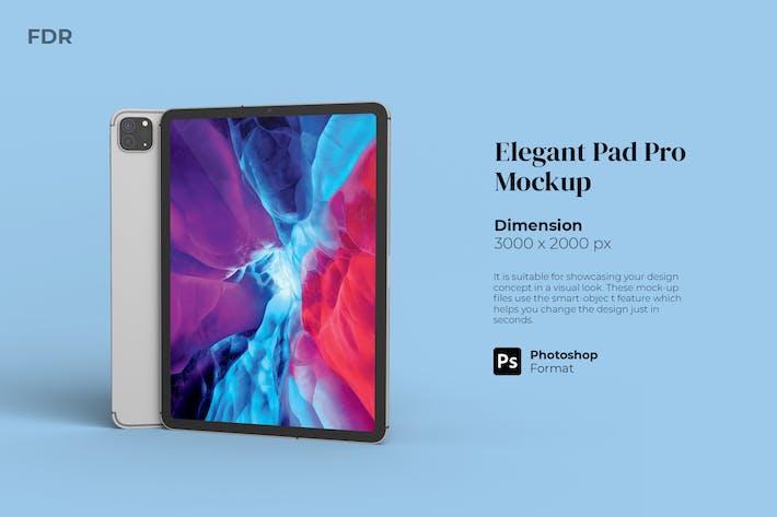 Thumbnail for Elegant Pad Mockup