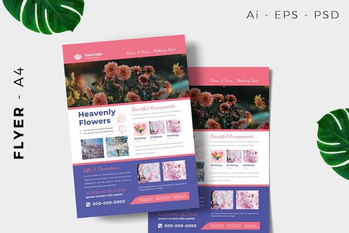Thumbnail for Florist Flyer Design