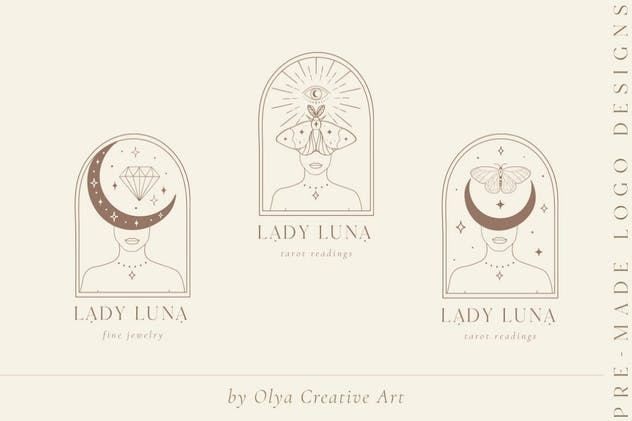 Lady Luna Design Elements. Blog. Tarot, Spiritual.