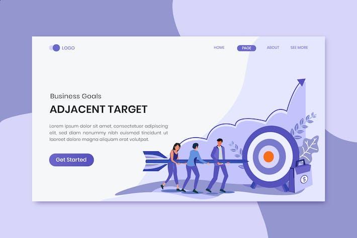 Thumbnail for Adjacent Targets Marketing Landing Page