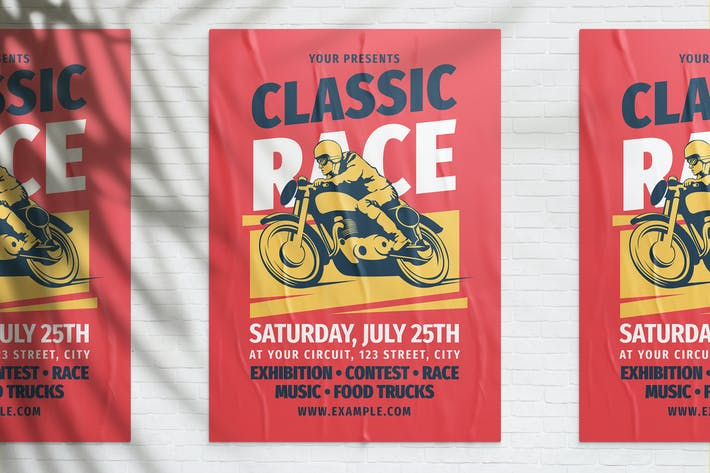 Thumbnail for Classic Motorcycle Race