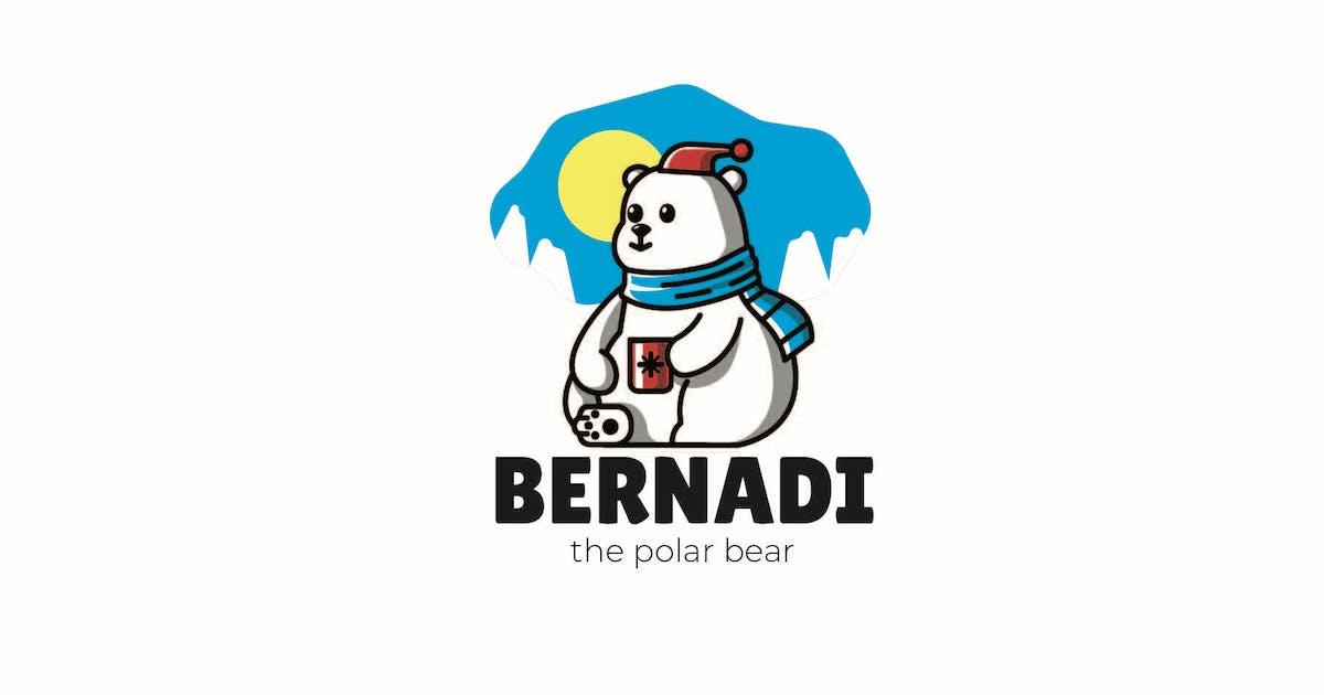 Download Snow Bear - Mascot Logo by aqrstudio