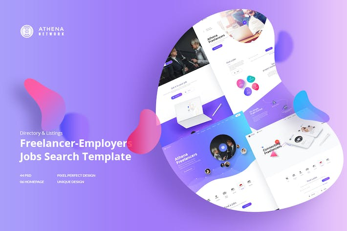 Thumbnail for ATHENA - Freelancer and Employers Jobs Search