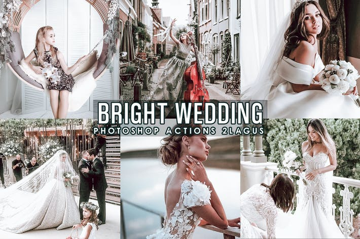 Thumbnail for Bright Wedding Presets Lightroom