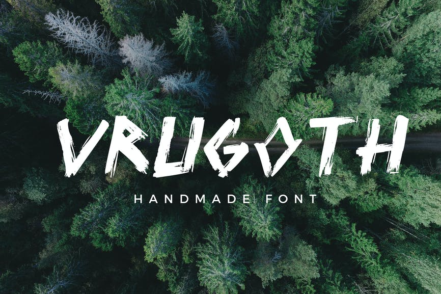 Vrugoth Handmade Font