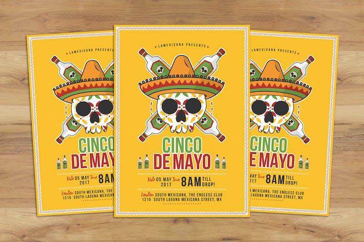 cinco de mayo flyer by badastarad on envato elements