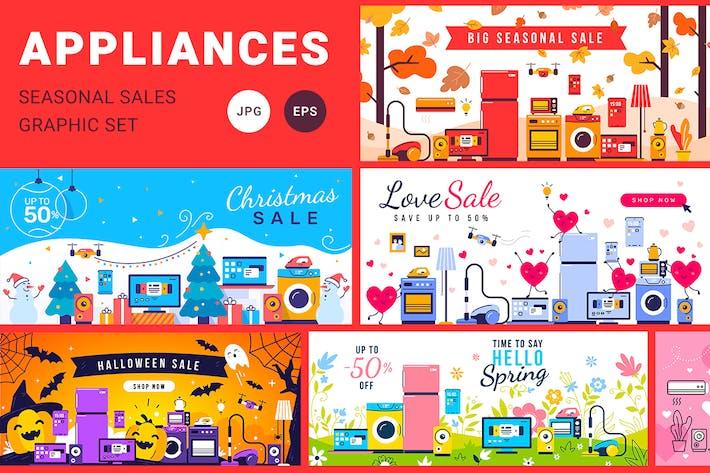 Thumbnail for Household appliances