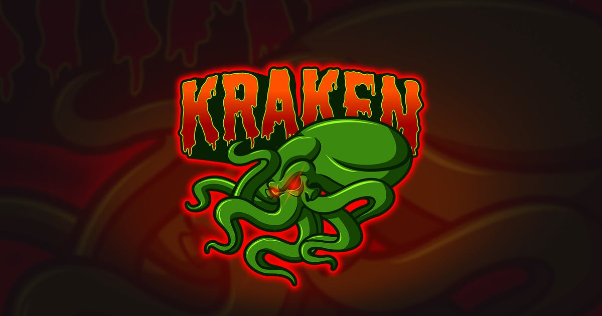 Download Kraken - Mascot & Esport Logo by aqrstudio