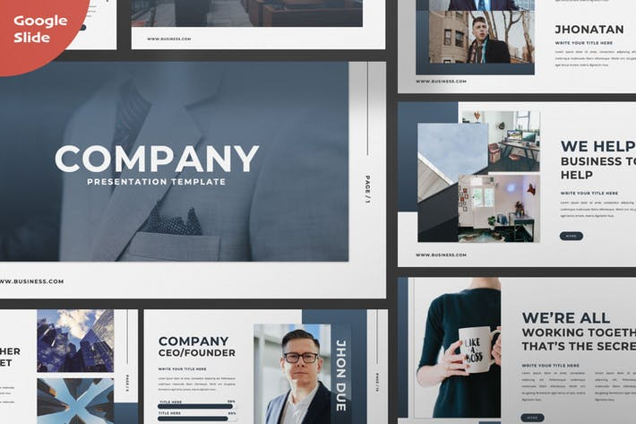 Company Creative Google Slide Presentation