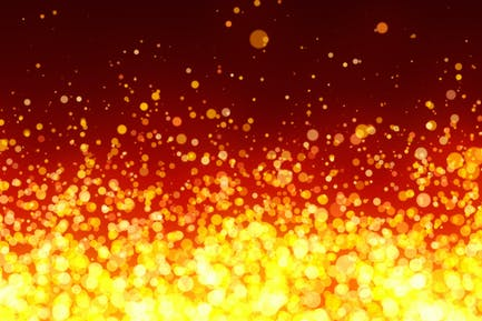 Fiery Particles Background