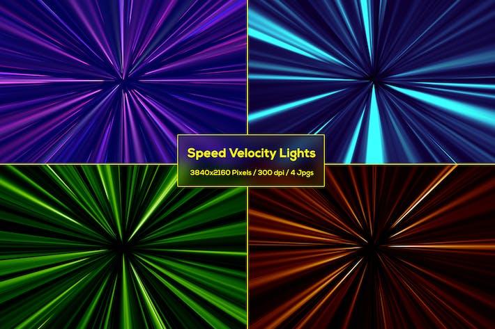 Speed Velocity Lichter Hintergründe
