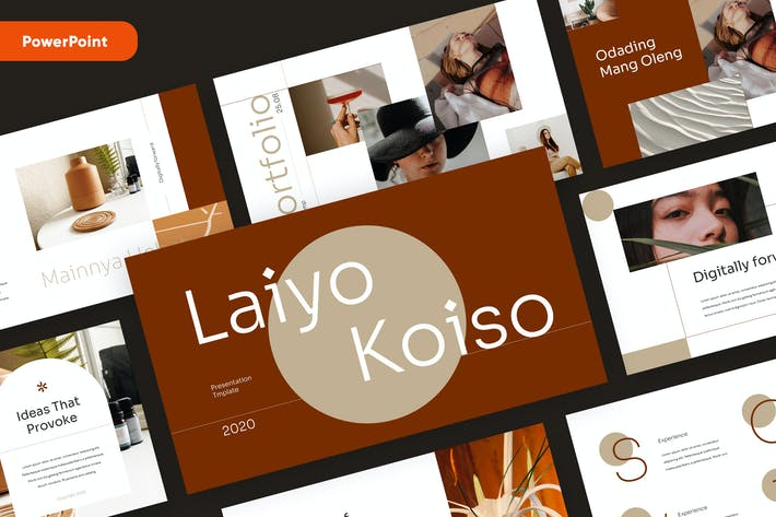 Thumbnail for LAIYO - Stylish Fashion Powerpoint Template