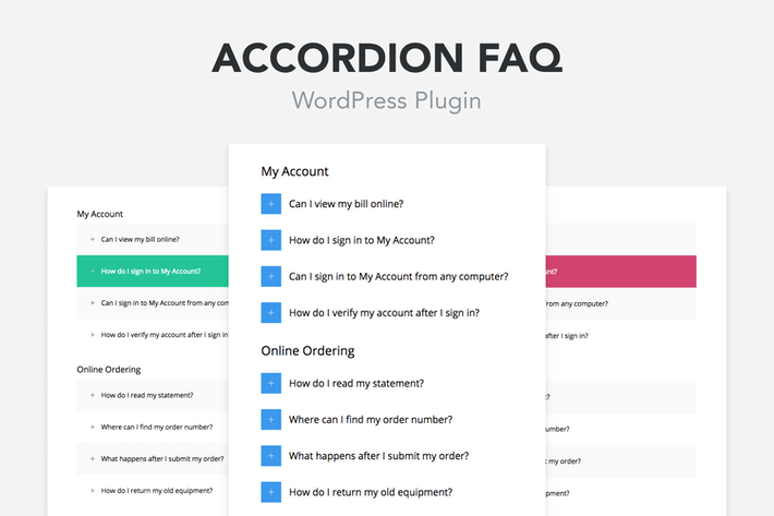 Thumbnail for Accordion FAQ WordPress Plugin