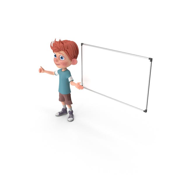 Cover Image for Cartoon Boy Charlie At Presentation