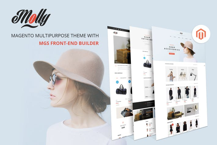 Thumbnail for Molly - Elegant Multipurpose Magento 2 & 1 theme