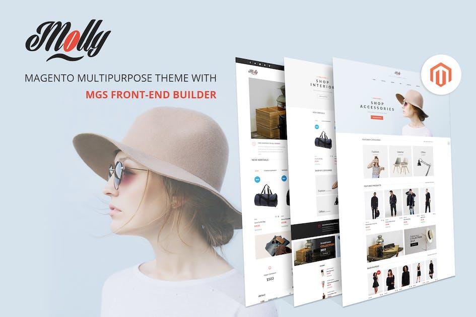 Download Molly - Elegant Multipurpose Magento 2 & 1 theme by ArrowHiTech