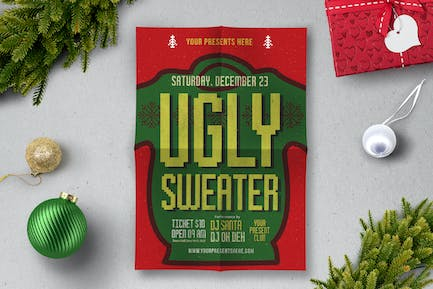 Ugly Sweater Flyer
