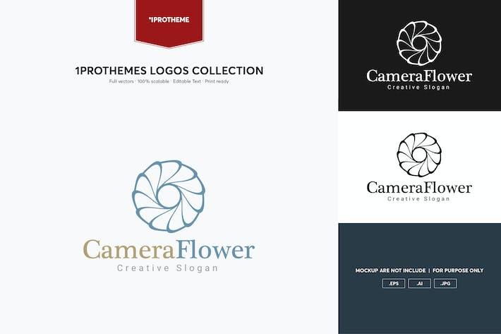 Thumbnail for Camera Flower Logo Template