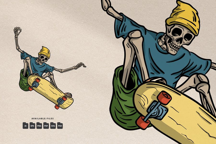 Sakteboard Jam - Handdrawn Logo Illustration