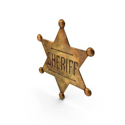 Dirty Sherrif Badge