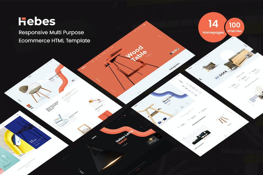 HEBES - Multipurpose Ecommerce HTML Template