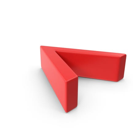 Red Angle Bracket