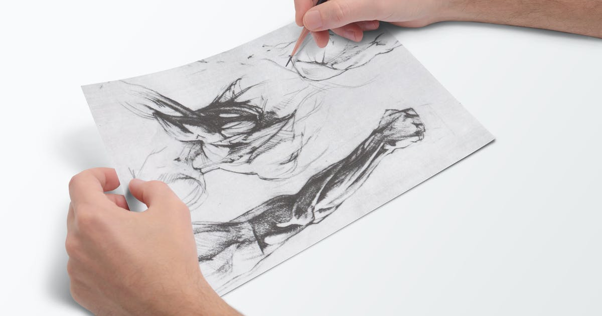 Sketchbook Mock-Up by L5Design