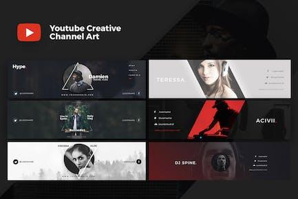 Portada Creativo de Youtube V.1