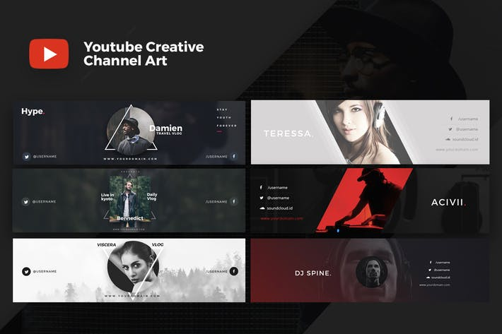 Cover Image For Youtube Creative Cover V.1