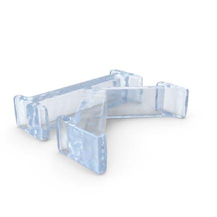 Ice Capital Letter K