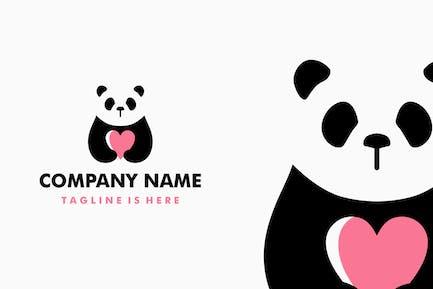 Panda Love Logo