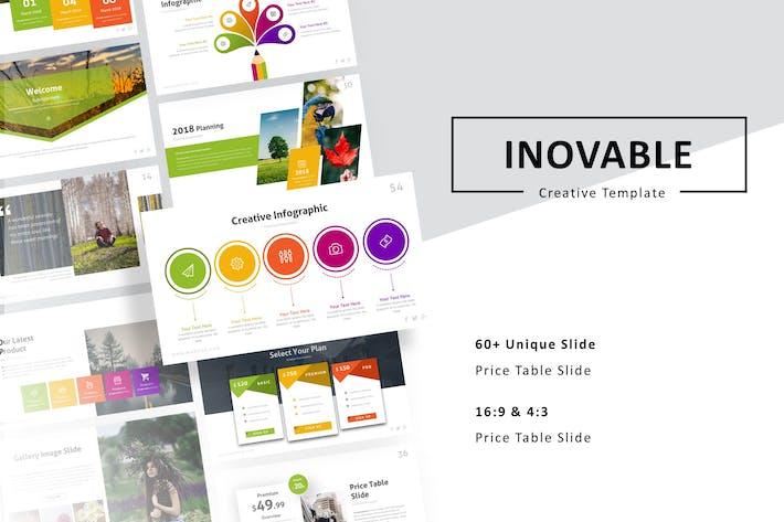 Inovable - Creative Presentation Template