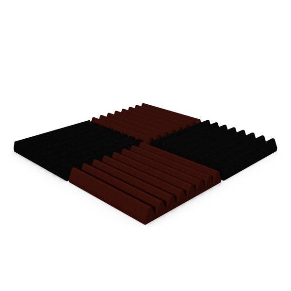 Acoustic Foam Section Micropor Pyramidal