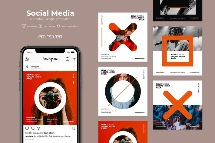 Thumbnail for SRTP- Social Media Pack. v01