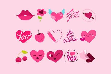 Be My Valentine Icons