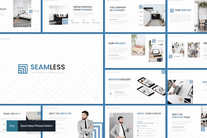 Thumbnail for Seamless - Keynote Template