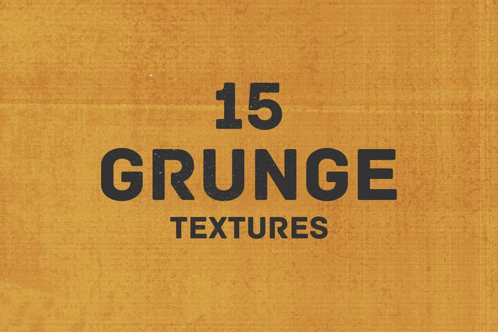 Cover Image For 15 Grunge Textures