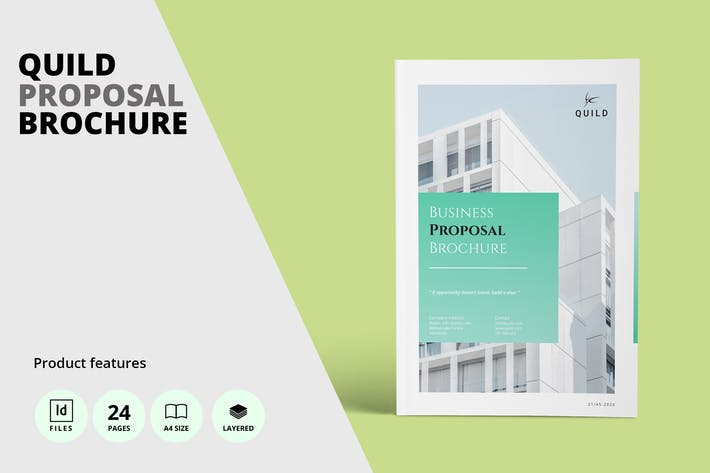 Thumbnail for Architecture A4 Proposal Brochure Template
