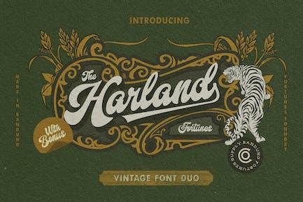 Harland Vintage & Cartoon Pack