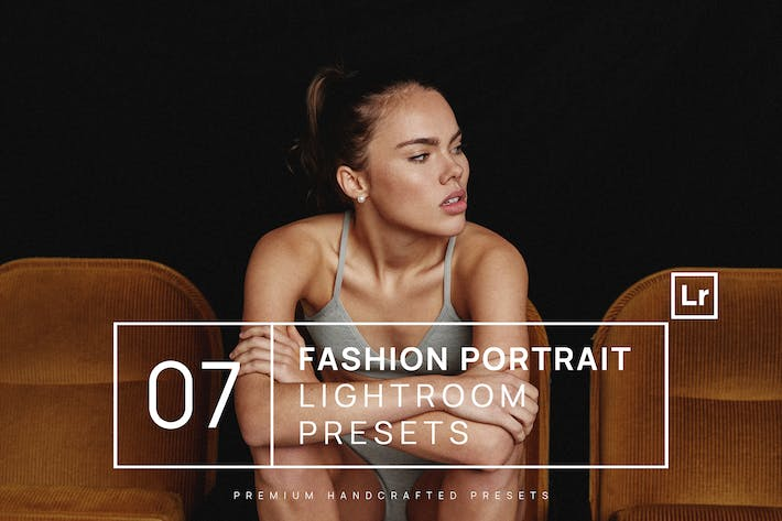 Thumbnail for 7 Fashion Portrait Lightroom Presets + Mobile